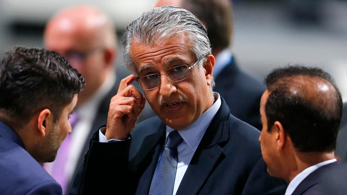 FIFA presidential candidate Sheikh Salman bin Ibrahim al-Khalifa of Bahrain ponders after the first round of the election during the extraordinary FIFA congress in Zurich, Switzerland, Friday, Feb. 26, 2016. AP