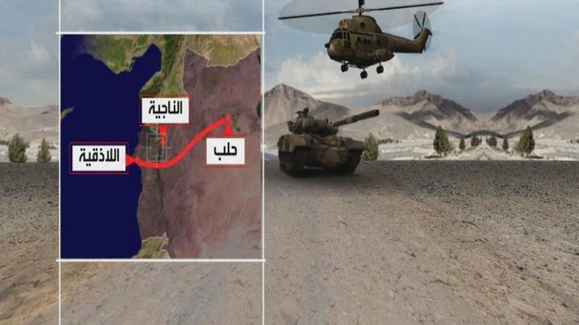 THUMBNAIL_ سوريا.. التحالف يقصف داعش ومعارك ضارية مع الأكراد