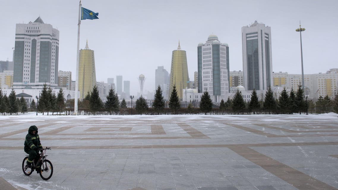 The Kazakh capital Astana is seen from the Presidential Palace, November 2, 2015. (Reuters)