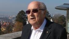 Blatter finally free of FIFA 'burden,' backs Infantino