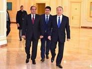 الرئيس المصري يختتم زيارته لكازاخستان ويتوجه إلى طوكيو