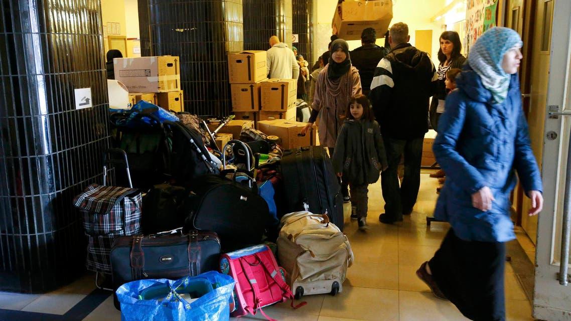 مركز لإيواء اللاجئين في المانيا لاجئين لجوء