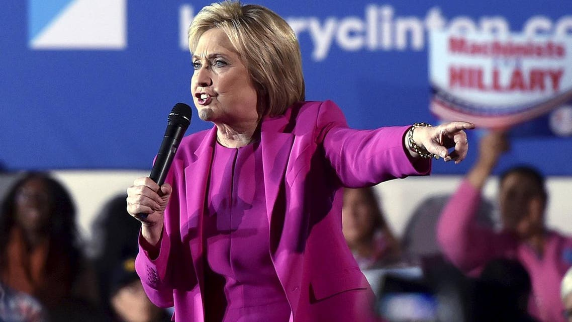 U.S. Democratic presidential candidate Hillary Clinton speaks at a campaign rally at the Laborers International Union hall in Las Vegas. (File photo: AP)