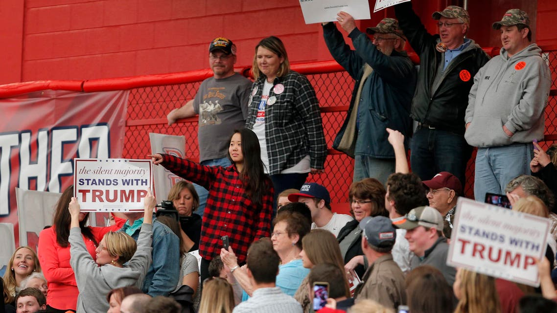 Trump rally disrupted