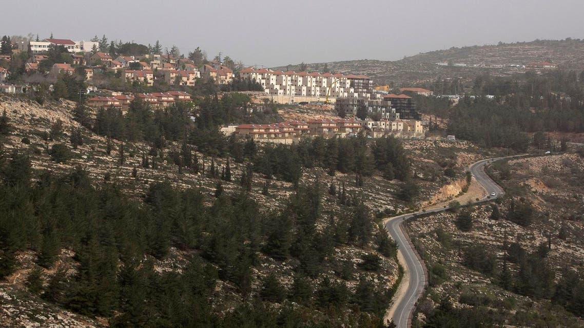 This photo taken Monday, March 3, 2014 shows the Jewish settlement of Eli. (AP)