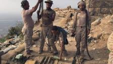 سعودی سرحد کے سامنے 11 حوثی ہلاک، بھاری ہتھیار قبضے میں