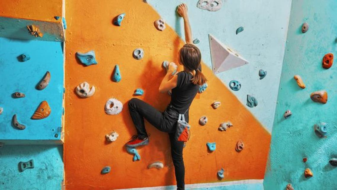indoor climbing shutterstock