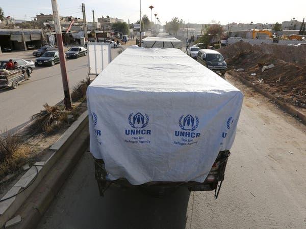 دي ميستورا يأسف لعدم وصول مساعدات كافية لمحاصري سوريا