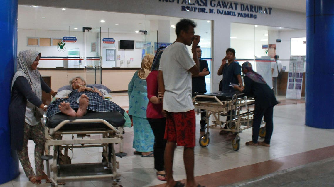 Aftershocks rock Indonesia after massive quake