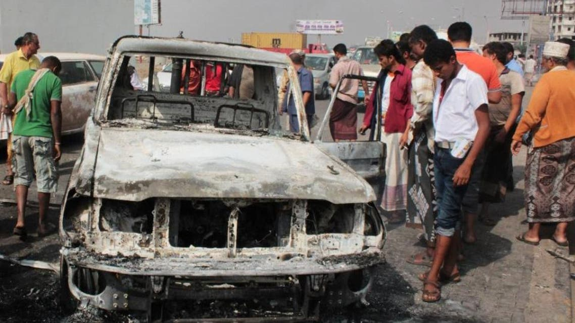 Al-Qaeda and the Islamic State group have stepped up attacks in Aden. (AFP)