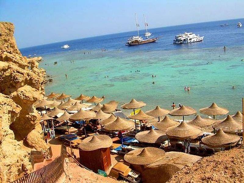 أحد الشواطئ المصرية