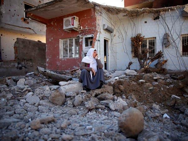 """تركيا تنهي العمليات في بلدة كردية ومقتل 114 """"متطرفاً"""""""