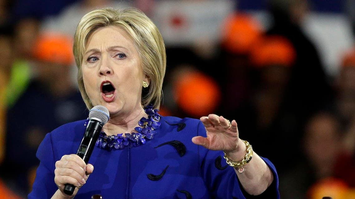 Democratic presidential candidate Hillary Clinton speaks at a campaign rally Wednesday, March 2, 2016, in New York. (AP)