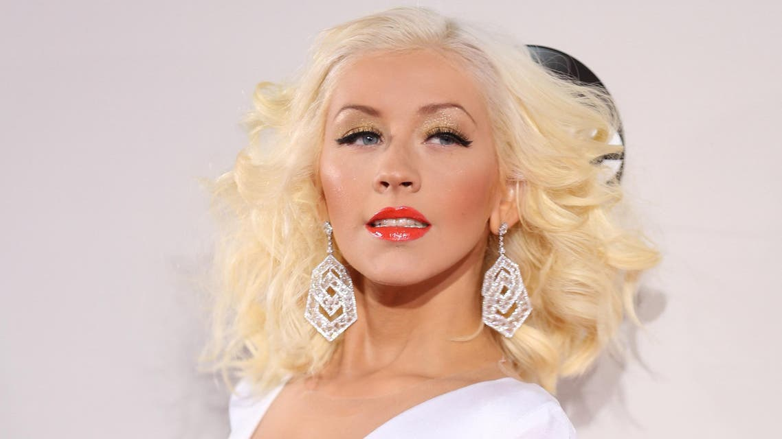 Christina Aguilera arrives at the 2013 American Music Awards, on Sunday, Nov. 24, 2013 in Los Angeles.(AP)