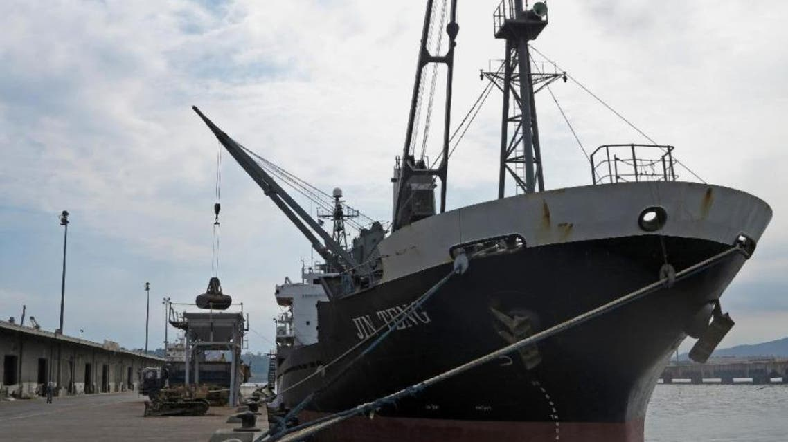 The cargo ship Jin Teng will not be allowed to leave Subic port, where it had been docked for three days and its crew will be deported (AFP)