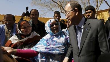 بان كي مون يزور مخيمات اللاجئين الصحراويين