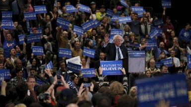 ساندرز يهزم كلينتون في انتخابات الديمقراطيين في ولايتين