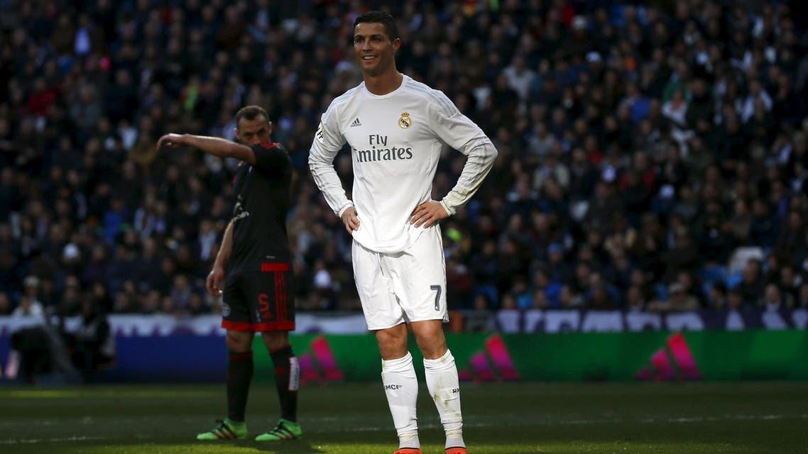 Ronaldo's haul gave him 252 career goals according to the league. (Reuters)