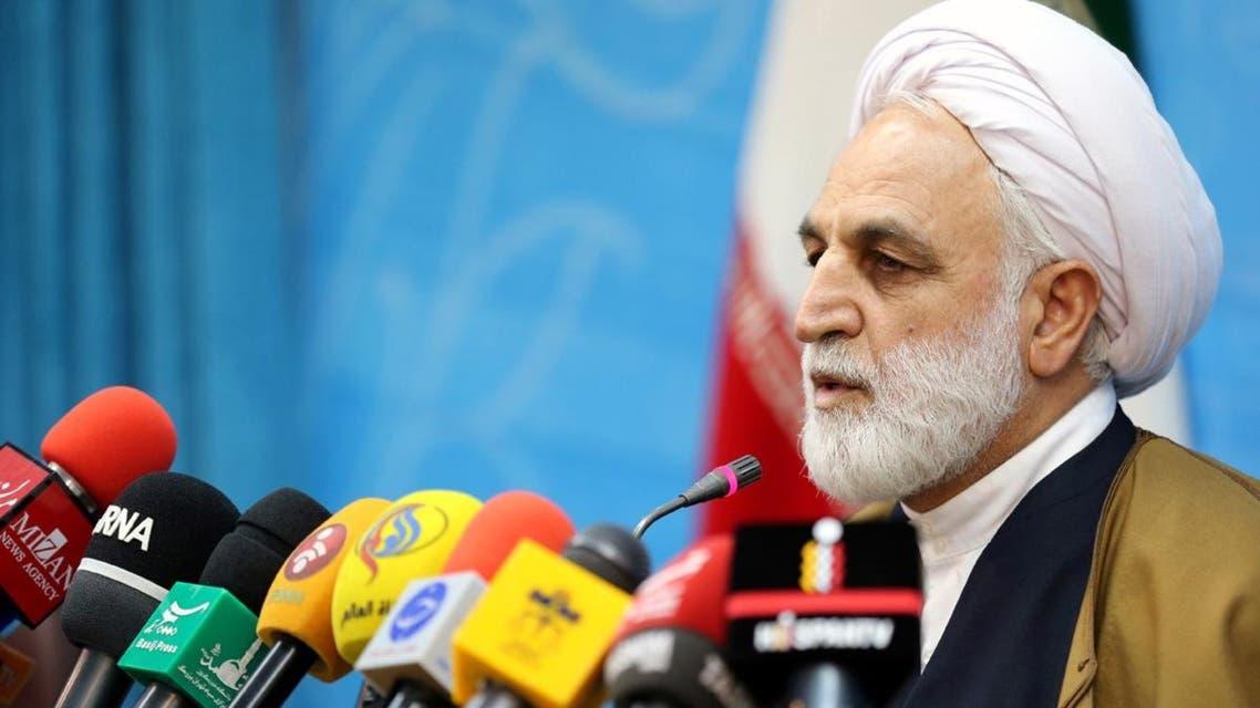 المتحدث باسم السلطة القضائية الايرانية غلام حسين محسني ايجئي،