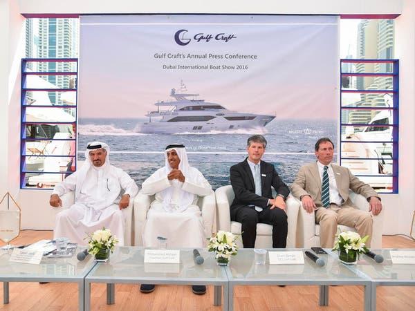 """بالصور..""""جلف كرافت"""" تعرض يخوتاً بـ200 مليون درهم في دبي"""