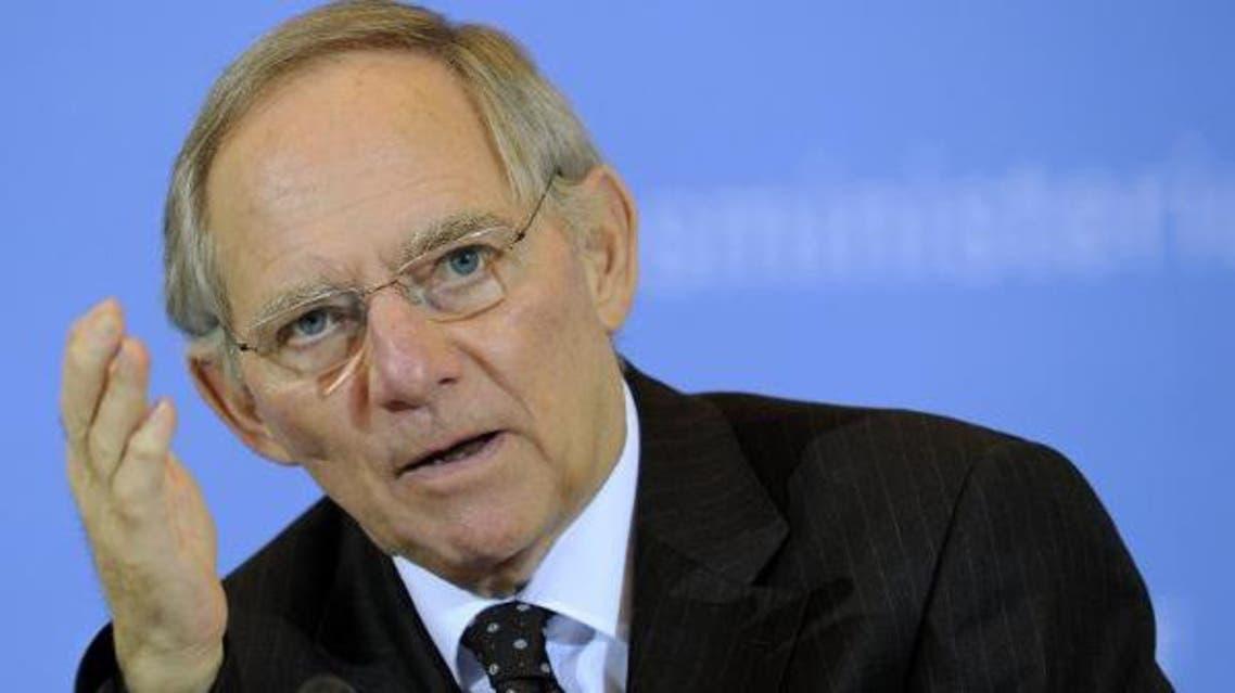 وزير المالية الألماني فولغانغ شيوبله