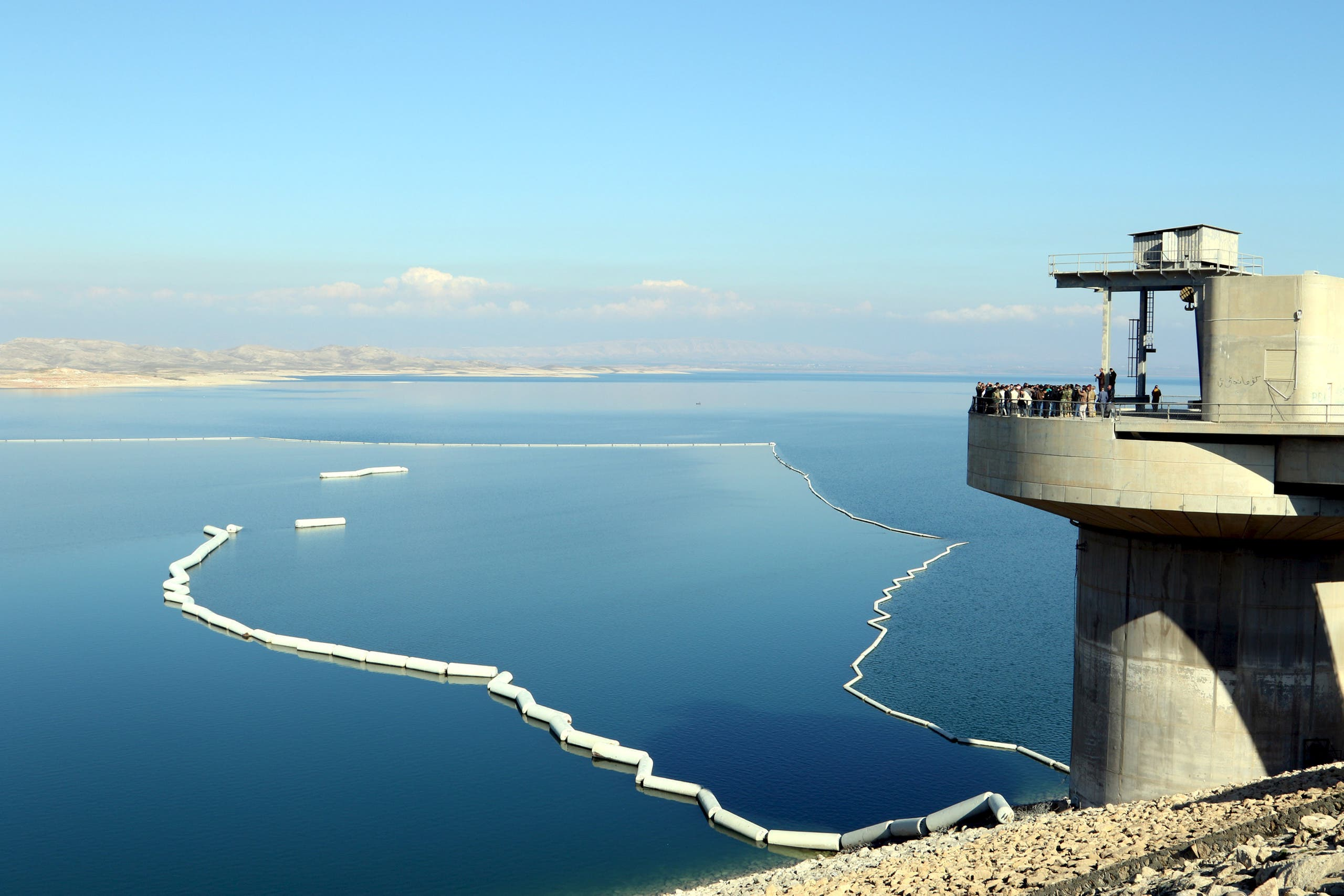 A view a section of the Mosul Dam in northern Iraq, February 3, 2016. (Reuters)