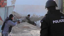 Militants, Tunisian forces clash in border town