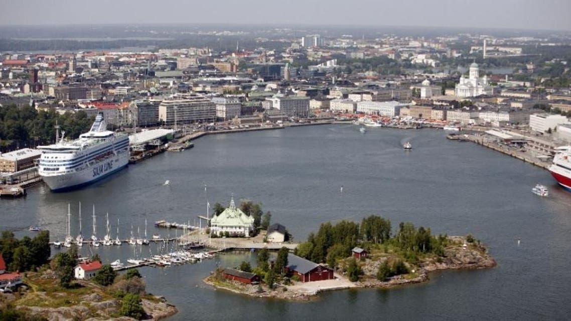 Finnish officials said 4,000 microbecquerels of the radioactive isotope caesium-137 per cubic metre of air were detected between March 3 and 4 over Helsinki (AFP)