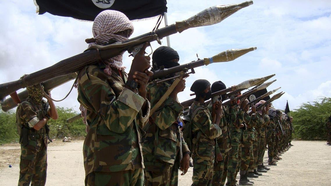 عناصر من حركة الشباب الصومالية 3