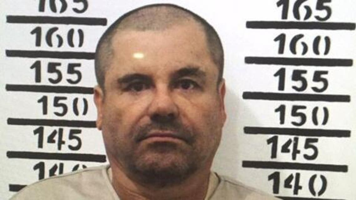 Joaquin Guzman humiliated President Enrique Pena Nieto's administration when he escaped in July through a hole in his cell's shower. (File photo: AP)
