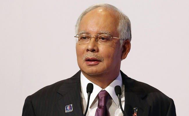 رئيس وزراء ماليزيا نجيب عبد الرزاق