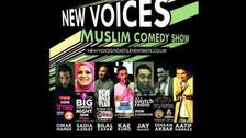 British Muslim stand-up comedians feature on 'New Voices' talent show
