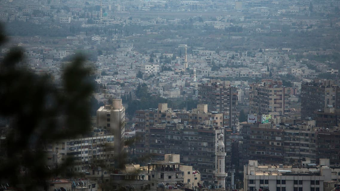 A view across the city of Damascus, Syria, Thursday, March 3, 2016. (AP)