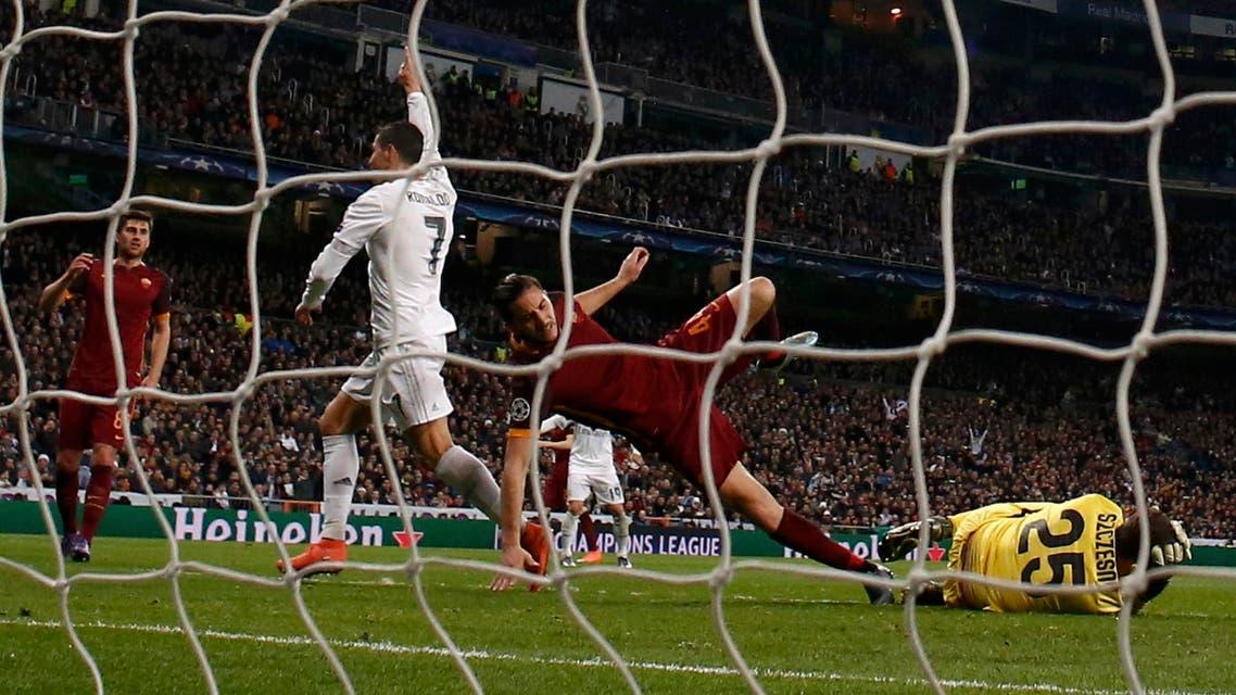 ريال مدريد روما رونالدو