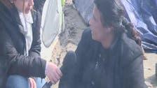 العربية في خيم #اللاجئين_السوريين على الحدود اليونانية المقدونية