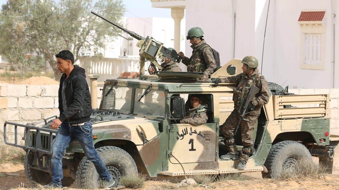 الجيش التونسي في بن قردان