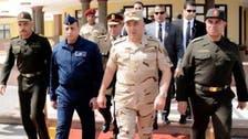 """رئيس الأركان المصري إلى السعودية لحضور """"رعد الشمال"""""""