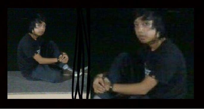 صورة مكبرة لمطلق الرصاص القتيل، الفلبيني روغاسان ميسواري، حين كان مراهقا عمره 16 سنة