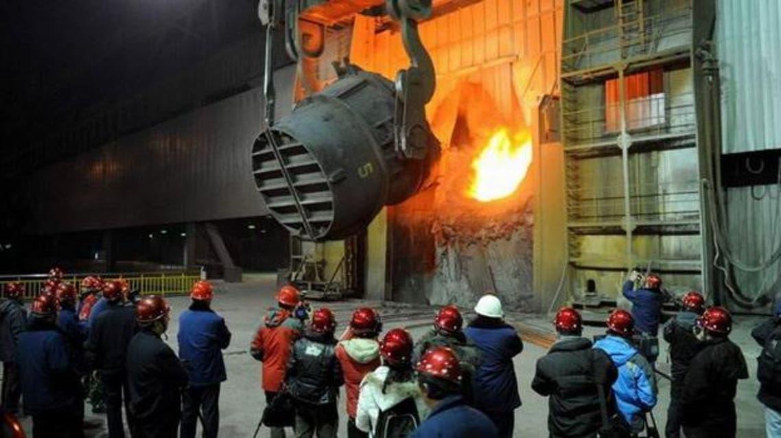 قطاع الصلب - الصين - صناعة - عمال