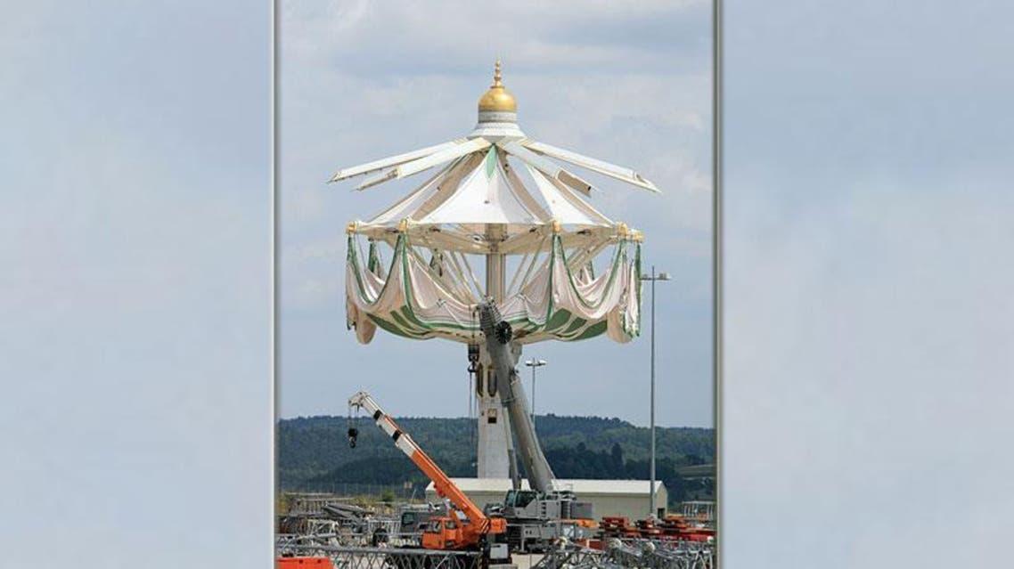 مظلات المسجد الحرام