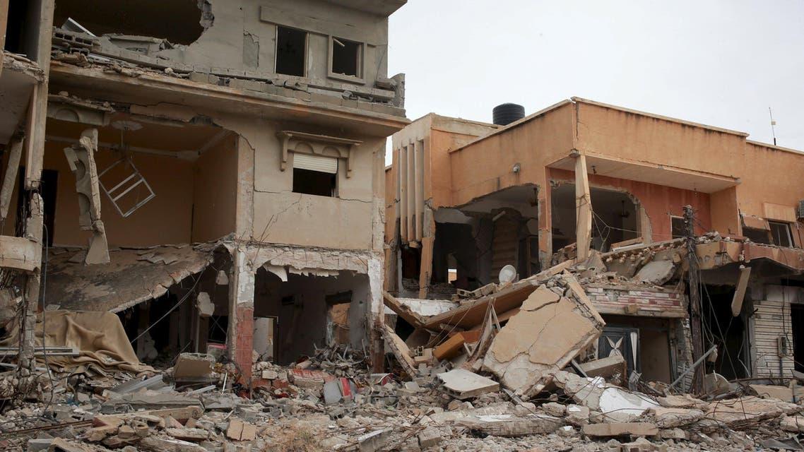 آثار الحرب في ليبيا