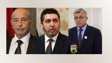 ليبيا.. عقوبات أوروبية ضد أبوسهمين والغويل وعقيلة صالح