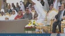 """ابوظہبی کے ولی عہد کی """"ادا"""" کے سوشل میڈیا پر چرچے"""