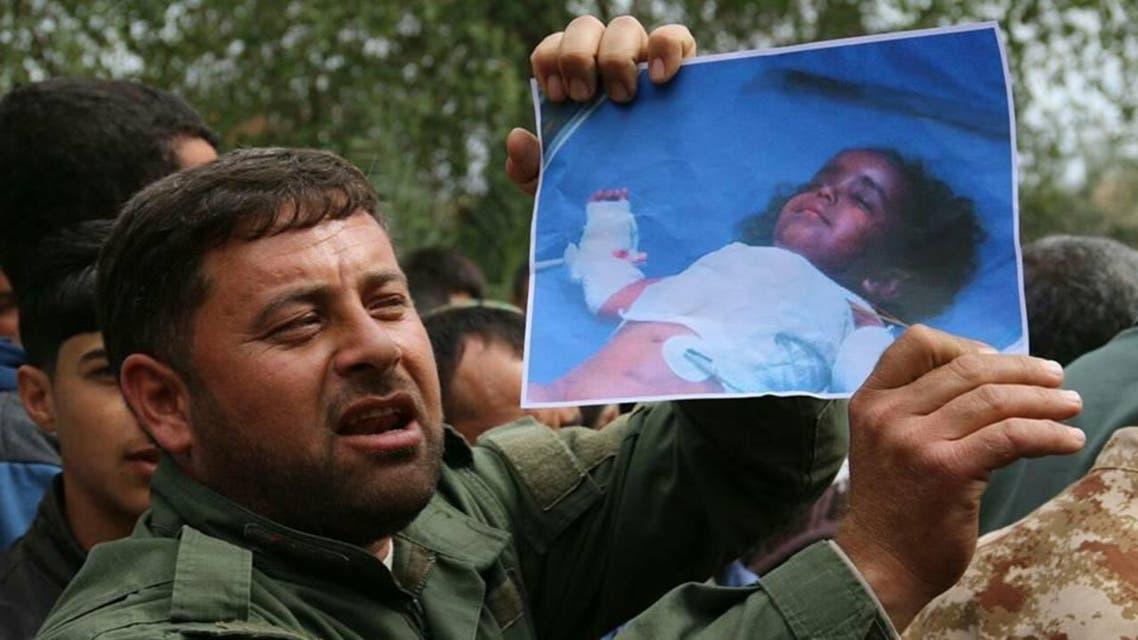صورة الطفلة التي توفيت جراء الكيمياوي في تازة