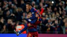 Messi and Neymar help Barca to 12th straight La Liga win