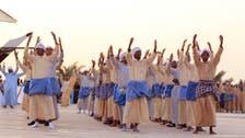 """""""خطفة شراع"""" تجذب زوار مهرجان الساحل الشرقي بالدمام"""