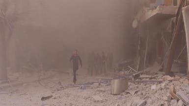 الهدنة تنتهك.. غارات للنظام وروسيا على حلب وحمص وحماة