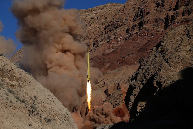 Iranian missile test