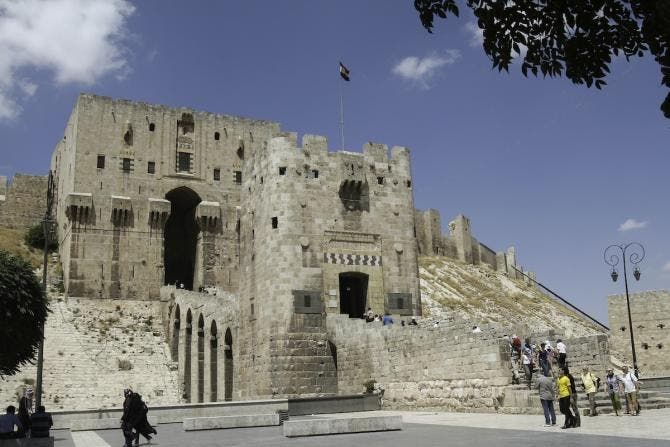 Before After War Ravages Syria Historical Sites Al Arabiya English