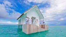 """حفلات الزفاف بوسط محمية طبيعية بـ""""فورسيزونز"""" المالديف"""
